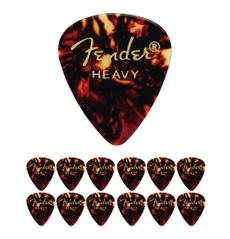 Foto-pequena-Kit-com-12-palhetas-Fender-351-Classic-Shell-Heavy