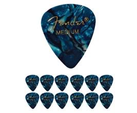 Foto-pequena-Kit-com-12-palhetas-Fender-351-Ocean-Turquese-Medium
