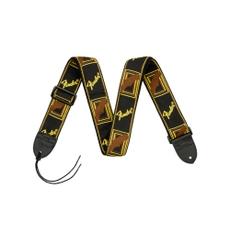 Correia para Instrumento Fender Mono Strap Preto/Amarelo/Marrom