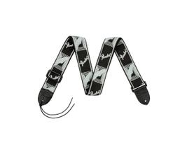 Correia para Instrumento Fender Mono Strap Preto/Cinza