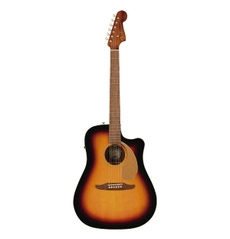 Foto-pequena-Violão-Fender-Redondo-Player-WN-Sunburst