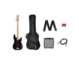 Kit Contrabaixo Squier Affinity Precision Bass® e Amplificador Rumble 15