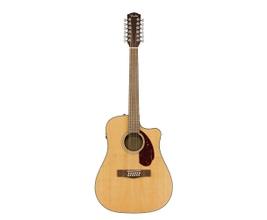 Violão Elétrico 12 cordas Fender CD-140SCE Dreadnought Natural WN