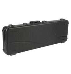 Case Fender Deluxe Molded para Contrabaixo Canhoto Preto