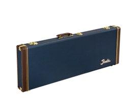 Case Fender Classic Series para Contrabaixo Stratocaster e Telecaster Navy Blue