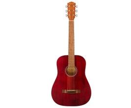 Violão Acústico 3/4 Fender FA-15 Aço Vermelho com Bag