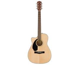Foto-pequena-Violão-Elétrico-para-Canhoto-Fender-CC-60SCE-WN-Natural